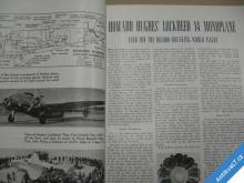 AERO DIGEST august 1938 časopis USA