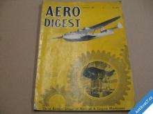AERO DIGEST january 1938 časopis USA