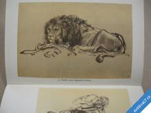 Rembrandt HANDZEICHNUNGEN kresby a studie 1956