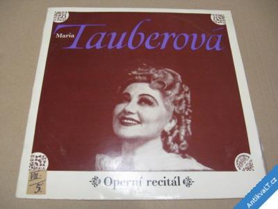 foto    Maria TAUBEROVÁ operní recitál 1973