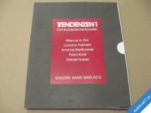 TENDENZEN1 fünf Künstler Galerie Hans Barlach