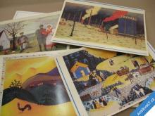NAIVISTÉ - SEZNAMUJE M. HORNÍČEK soubor 15 obrazů