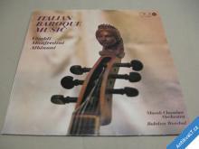 ITALIAN BAROQUE MUSIC Slovak Chamber Orch. 1980