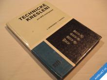 TECHNICKÉ KRESLENÍ SPŠ nestrojnické Leinveber 1981