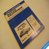 REVUE TECHNIQUE AUTOMOBILE 1966 CITROEN DS 19/21