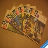ČASOPIS ABC ročník 1963/4 čísla 1 2 3 4 5 11 12