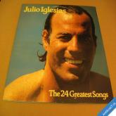 Iglesias Julio THE 24 GREATEST SONGS 2 LP 1979 CBS / NL