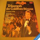 Gott Karel TRIUMPH DER GOLDENEN STIMME LP 1978 Polydor / NL
