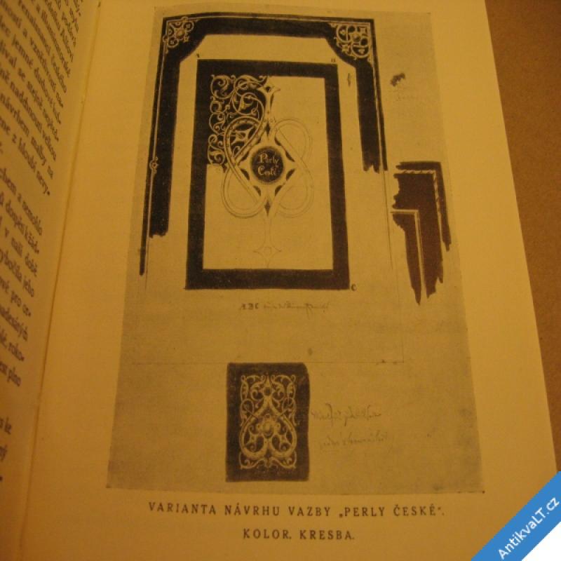 foto ŠTENCOVA ROČENKA 1920 Josef Mánes jeho tvorba a cesty, příroda