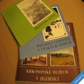 KRKONOŠE MUZEUM JILEMNICE Počátky lyžování, Fr. Kaván - dílo 1988