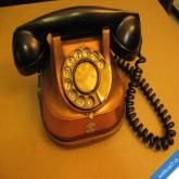 +++ STARÝ TELEFON BAKELIT, MĚĎ, MOSAZ NÁDHERNÝ KUS +++