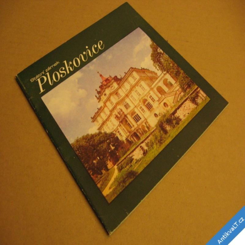 foto PLOSKOVICE státní zámek Ryška, Kraus 1984  SPOO Litoměřice