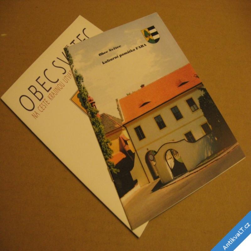 foto OBEC SVĚTEC A KULT. PAMÁTKA FARA 2007 OÚ Světec