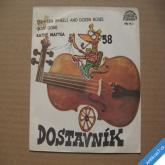 DOSTAVNÍK Kathy Mattea Eighteen wheels... 1979 cover Jan Vyčítal