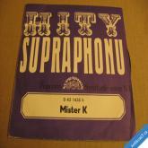 MISTER K - POPCORN, SYNTHETIC SISTER N1 1972 SP