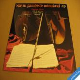 SLAVNÍ GAMBISTÉ MINULOSTI Sláma, Hála LP 1982