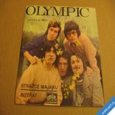 Olympic STRÁŽCE MAJÁKU, INZERÁT 1971 SP