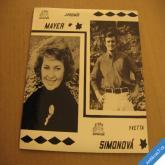 Simonová Y. Mayer J. KULATÝ SVĚT, ZÁVIDÍM KOČKÁM 1966 SP 013659h