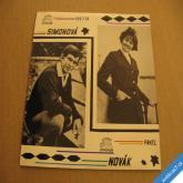 Simonová Y. Novák P. AŤ ZVONÍ, DVĚ LÉTA 1969 SP 1430761