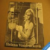 Vondráčková H. KAM ZMIZEL TEN STARÝ SONG, FANFÁN 1971 SP  0431204