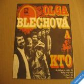 Blechová O. KTO ZA KLOBOUK SI.., KYTKY.., KOVBOJSKÝ BÁL, KLAUNI.. 1974