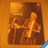 Gustav Brom hraje swing 1979 LP Supraphon stereo