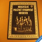 ORIGINÁLNÍ PRAŽSKÝ SYNKOPICKÝ ORCHESTR 1980 LP Supraphon