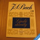 Bach Johann S. LIPSKÉ CHORÁLY  pro varhany 1972 2LP stereo