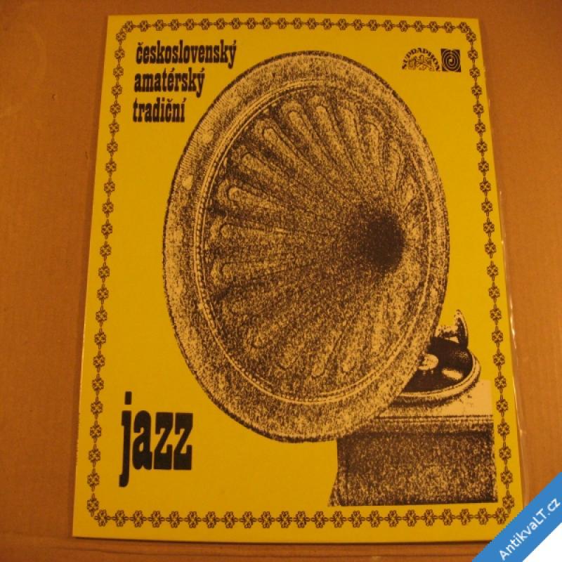 foto ČESKOSLOVENSKÝ AMATÉRSKÝ TRADIČNÍ JAZZ Mácha, Metzner 1974 LP stereo