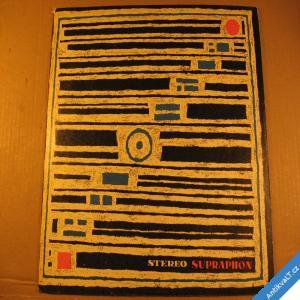 foto Vokální skupina Jiřího Linhy LP 1968 Supraphon stereo