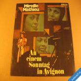 Mathieu Mireille AN EINEM SONNTAG IN AVIGNON 197? AMIGA stereo