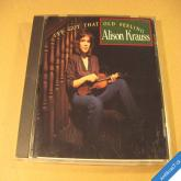Krauss Alison I´VE GOT THAT OLD FEELING 1990 Rounder Rec. Canada CD