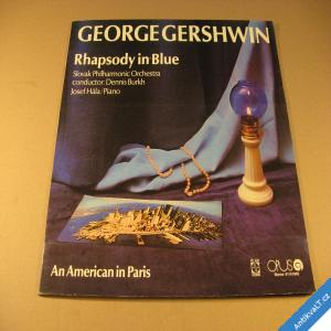 foto Gershwin George RHAPSODY IN BLUE 1975 Opus LP
