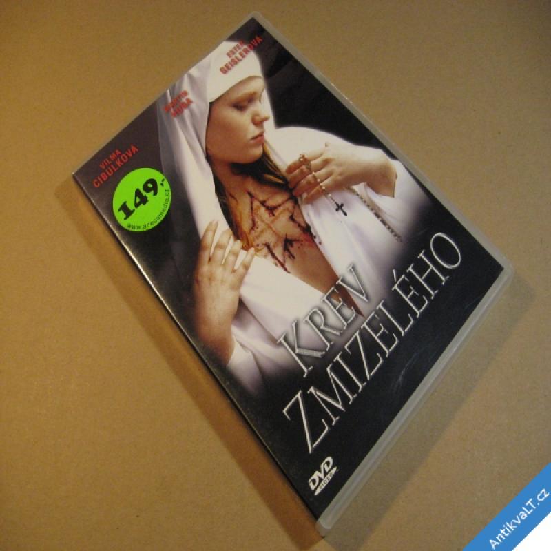foto KREV ZMIZELÉHO Cibulková, Huba, Geislerová 2004 DVD