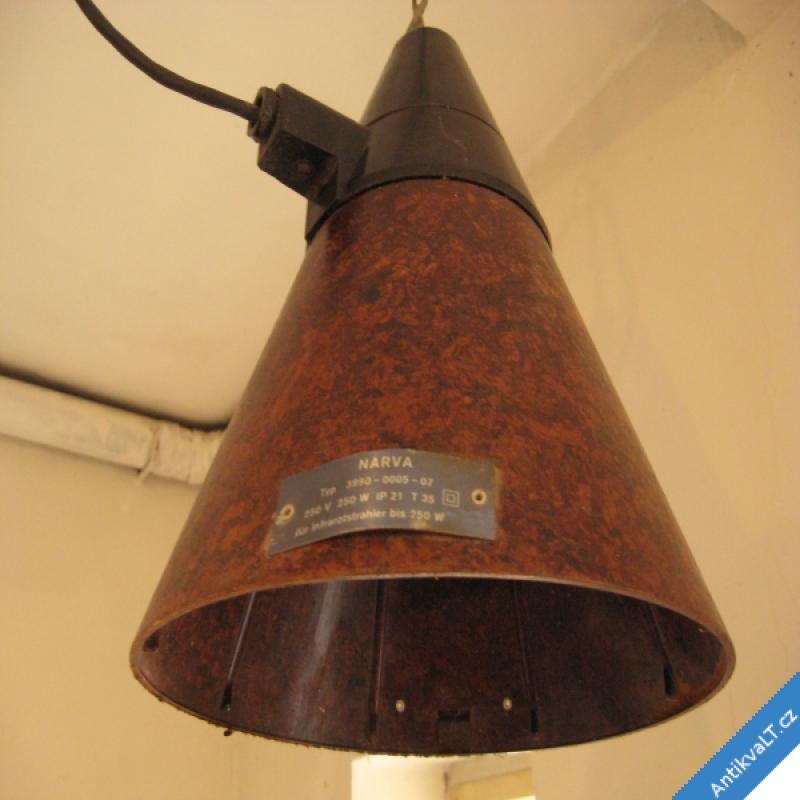 foto STARÉ BAKELITOVÉ LAMPY DÍLENSKÉ - PÁR 30 x 25 cm krásné retro