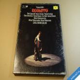Verdi Giuseppe RIGOLETTO 3 LP 1980 Opus LP stereo