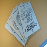Javořická Vlasta V SAMOTÁCH 4 sešity komplet 1991 Vizovice