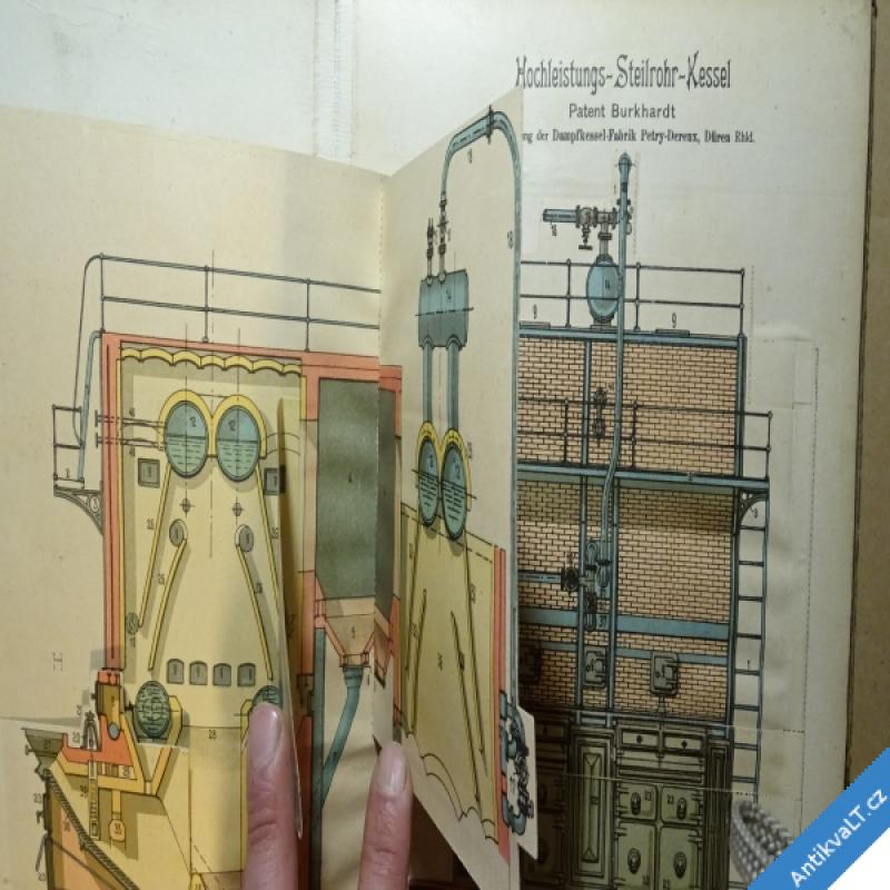foto DIE PRAXIS DES MODERNEN MASCHINENBAUES - MODELL ATLAS cca 1920