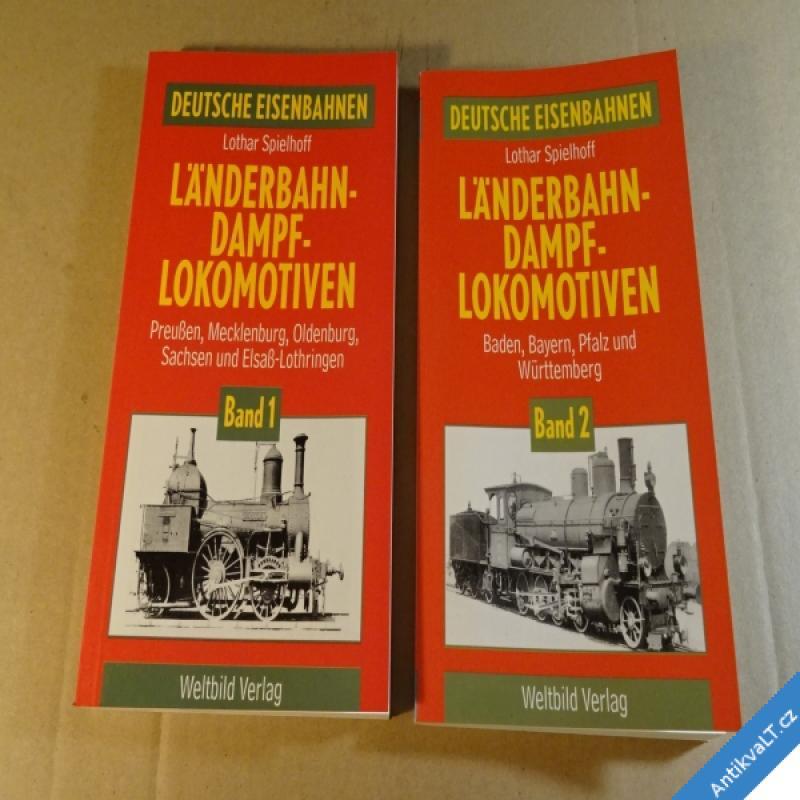 foto LÄNDERBAHN DAMPFLOKOMOTIVEN 1 - 2 1994 Augsburg