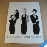 BANANARAMA I WANT YOU BACK maxisingl 1988 London / Metronom LP