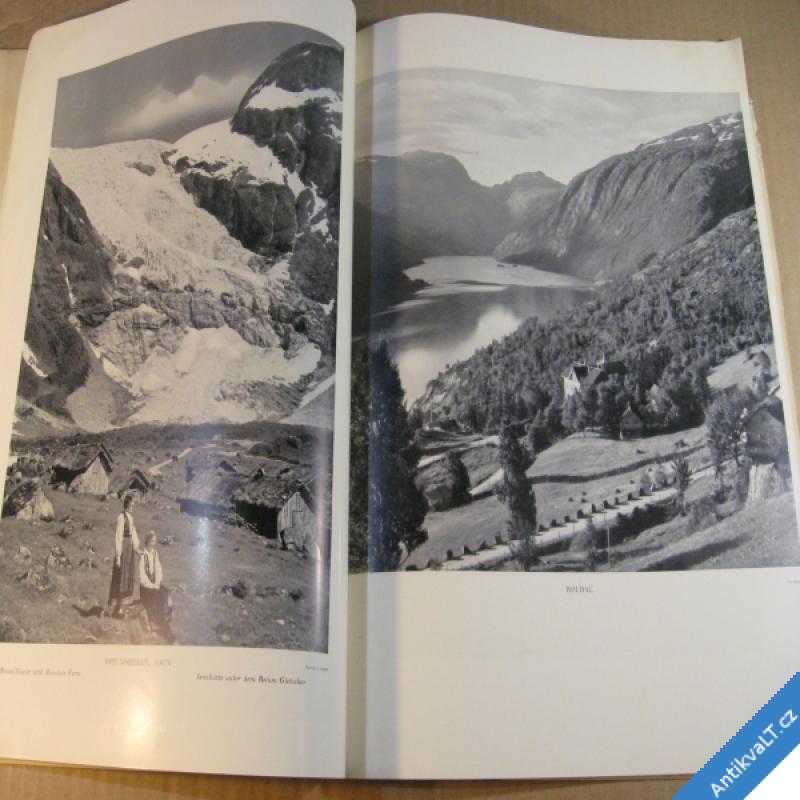 foto NORGE 1939 Oslo  NORSKO VE FOTOGRAFII velký formát