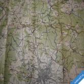 TURISTICKÁ MAPA OKOLÍ BRNĚNSKÉHO 1:75000 Bilík Brno KČT cca 1935