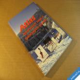 ATLAS LYŽAŘSKÝCH STOP A STEZEK - SASKÉ A ČESKÉ KRUŠNÉ HORY cca 2000