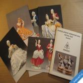 ROYAL DUX BOHEMIA sada 6 pohlednic cca 1980