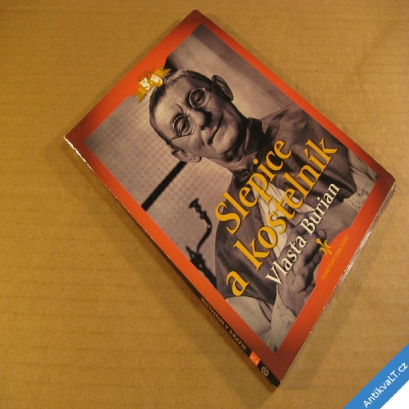 foto Burian Vlasta SLEPICE A KOSTELNÍK 1951 DVD