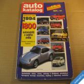 AUTO KATALOG MODELOVÝ ROK 1994 novinky z Frankfurtu