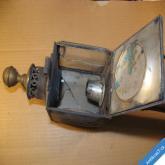 KOČÁROVÁ LAMPA K RENOVACI konec 19. století