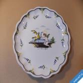 FAYENCE AUXERROISE dekorační tradiční keramika Francie Lotrinsko