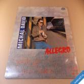 David Michal ALLEGRO 1989 LP deska Top