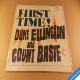 Duke Ellington and Count  Basie FIRST TIME LP PL
